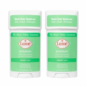 Lume sweet lily deodorant reviews